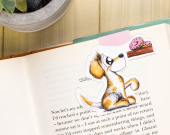 Dog Planner Bookmark, Dog Bookmark, Dog Planner Clip, Gifts for dog lovers, Dog Magnetic Bookmark, Dog People gift