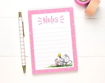 Notepad, Paper pad for notes, Memo pad, Gifts for teachers, Writing Pad, Cute stationery