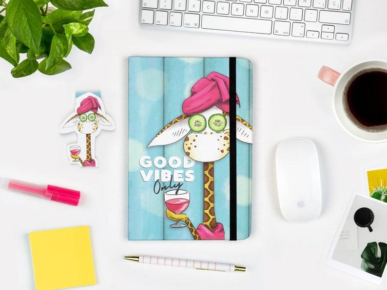 Cute Giraffe Notebook A5 Journal Hardcover journal Ruled 1 Notebook