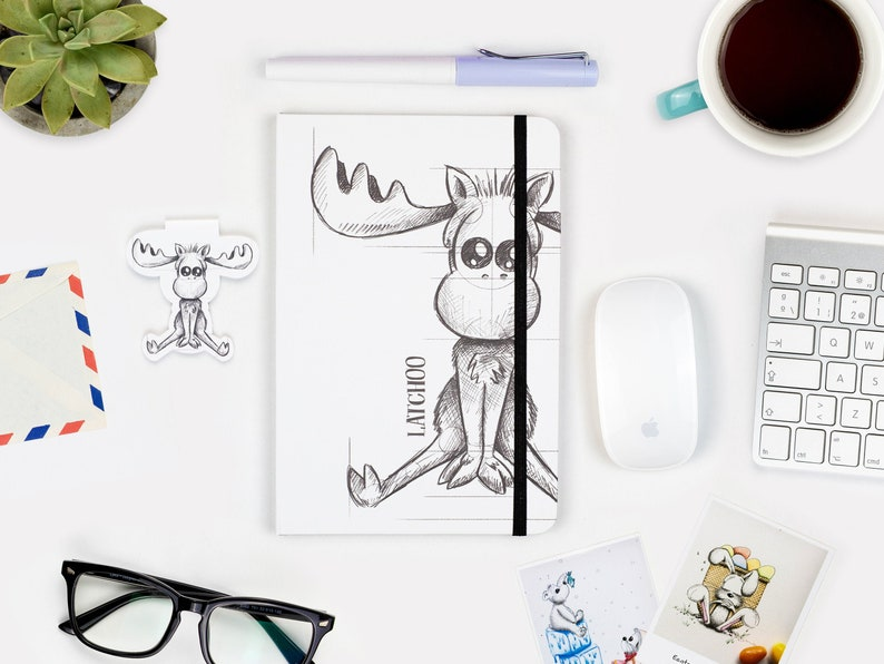 Sketch Notebook A5 Journal Hardcover journal Blank pages 1 Notebook