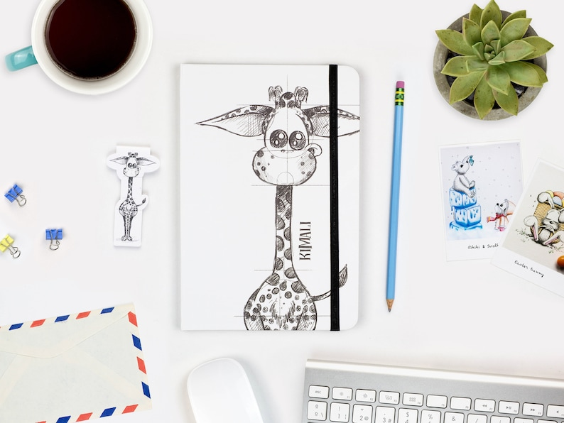 Sketch Notebook A5 Journal Hardcover journal Blank pages image 0