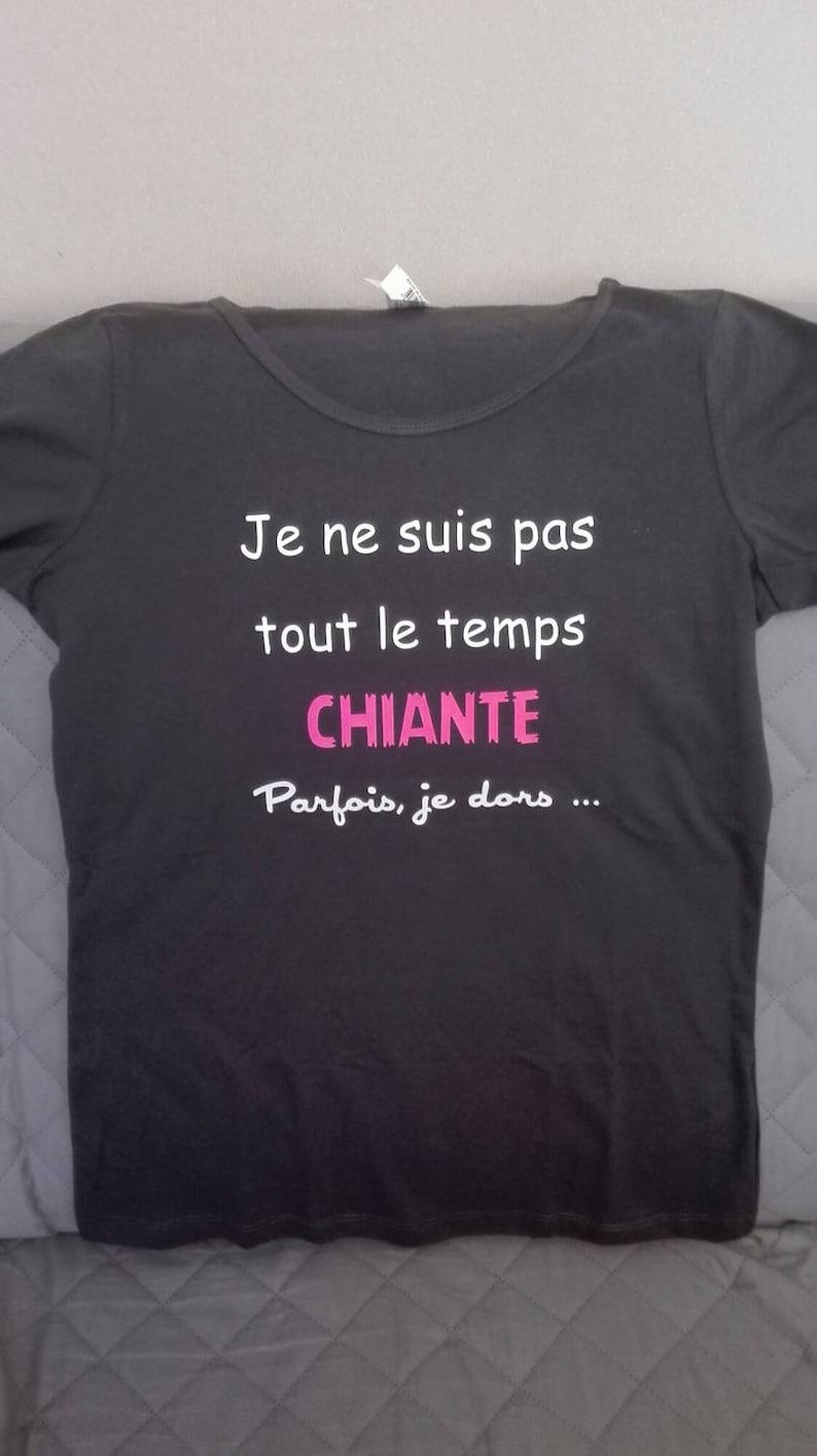 Humoristique Pour Pas Femme Ne Tout Le T Shirt Temps ChianteParfois Dors Suis Je OPkiuTZX