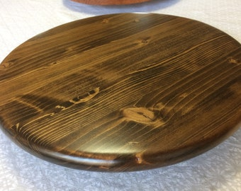 Pine lazy susan, 15'' Diameter, handcrafted