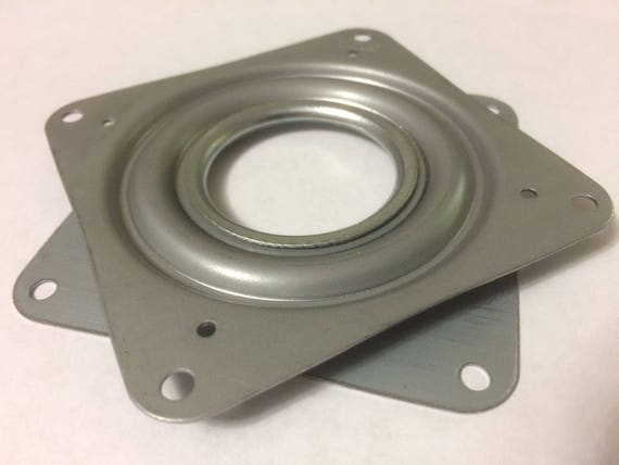 """One Square 3/"""" Inch Lazy Susan Turntable Bearing 5//16/"""" Thick /& 200 LB Capacity"""