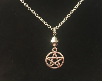 Silver Pentacle Necklace