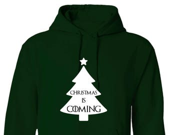 Game of Thrones Style Christmas is Coming Ugly Sweater