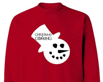 Game of Thrones Inspired Christmas is Coming Ugly Sweater