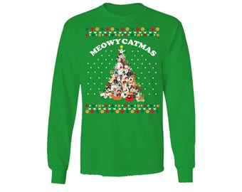 5c975a39a71 Meowy Catmas Christmas Style Sweater