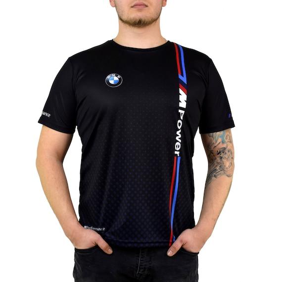 BMW M Power Blue Points T Shirt for Men Men'