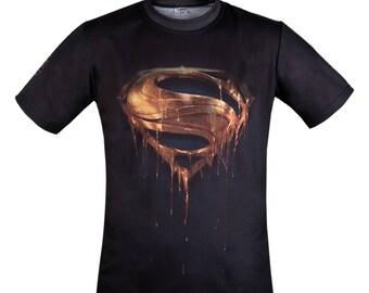 Superman Hero Fan Fashion Graphics Print Cool T-shirt
