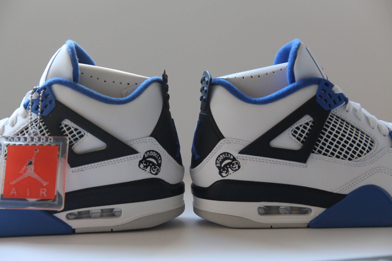 55036f8e6a561b Nike Air Jordan IV Motorsport 4 Mars Blackmon Size 10.5