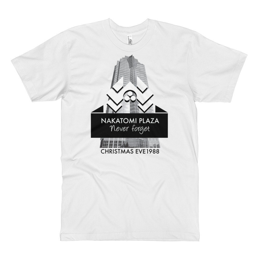 Die Hard Nakatomi Plaza Tall T-Shirt | Etsy