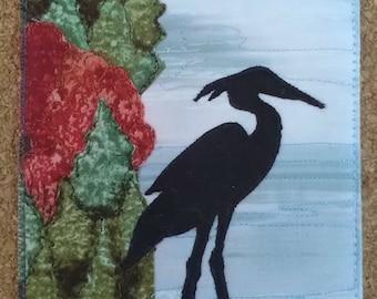 Postcard - Great Blue Heron