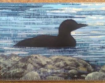 Postcard - Common Loon