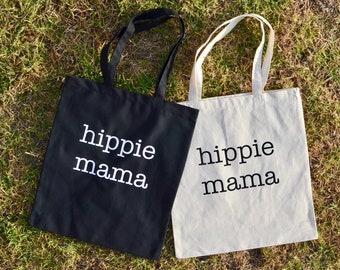 Tote bag, grocery bag, reusable grocery bag, reusable bag, Reusable Shopping Bag, Farmers Market Bag,Shopping Bag, Eco Tote Bag, Hippie mom