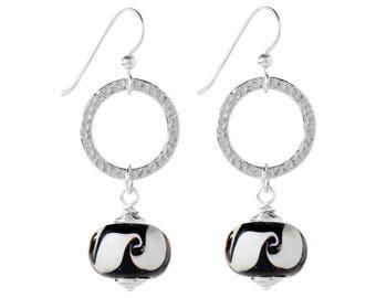Celestial Jewel Earrings Kit - Black and White
