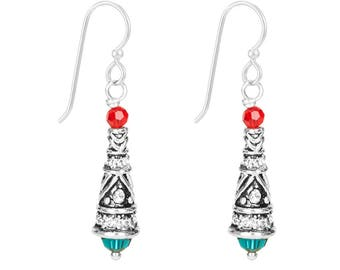Earrings Kit Holly Jolly Bali Christmas Tree with Swarovski® Crystals