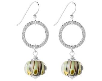 Celestial Jewel Earrings Kit - Mint Stripes