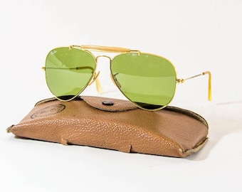 c101741e2ee Vintage Ray-Ban Outdoorsman - 58mm lenses - B L Bausch and Lomb