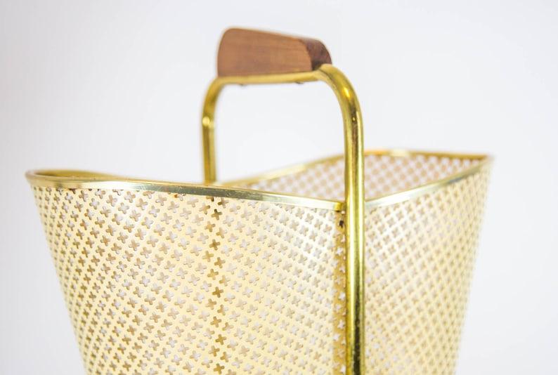 Midcentury umbrella stand Vintage 50/'s Atomic design Mathieu Mategot