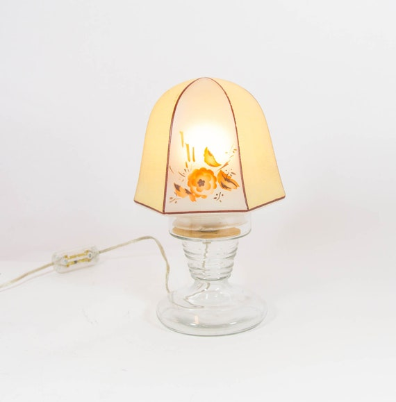 Frosted Glass Gold Table Lamp