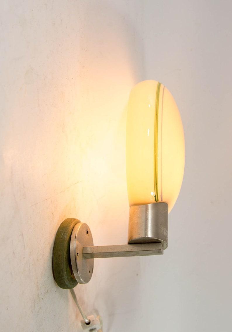 Lampada da parete Mid-Century / Vetro globo rotondo / design 2U0GNv3l