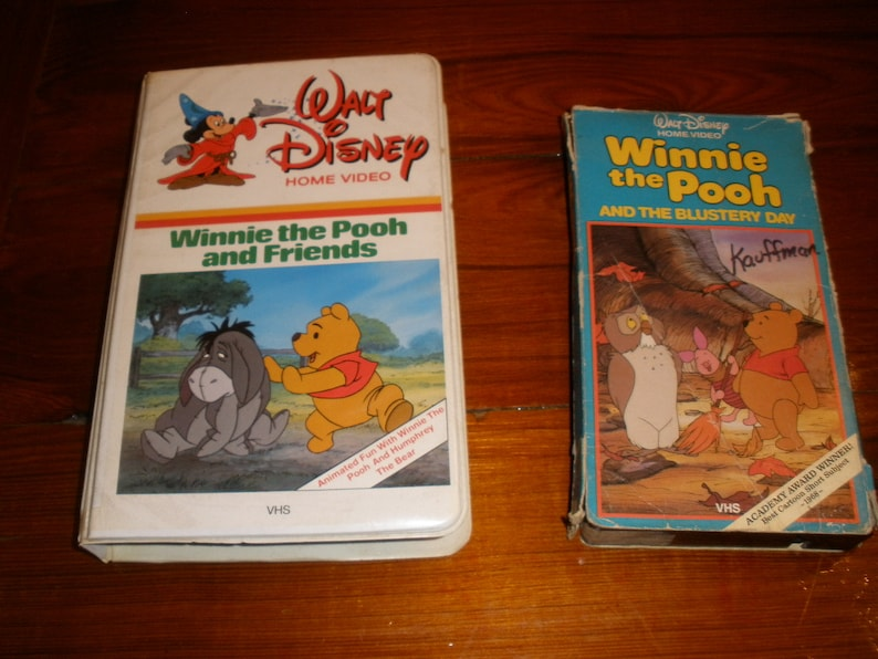 winnie the pooh the blustery day vhs
