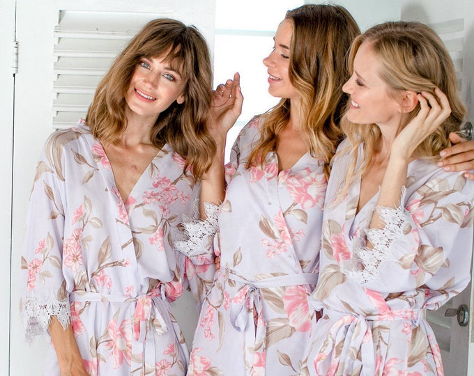 Bridesmaid Gift, Robes set of 7, Bridesmaid Robes Set of 8, Bridesmaid Robes Set of 9, Bridesmaid Robes Set of 10,Bridesmaid Robes Set of 11