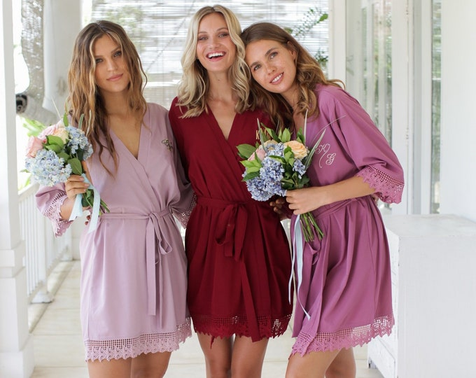 Bridesmaid robes set of 8, bridesmaid robes set of 9, bridesmaid robes set of 10, bridesmaid robes set of 11, bridesmaid robes set of 12