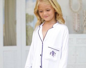 Flower Girl Shirt, Junior Bridesmaid Shirt, Flower Girl Proposal, Robe, Junior Bridesmaid Gift, Flower Girl Gift, Flower Girl Pajamas