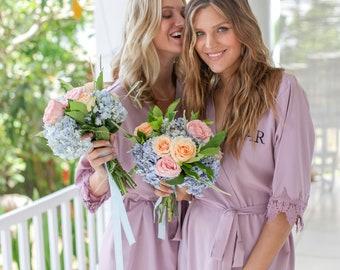 Set of 10 Bridesmaid Robes, Bridal Party Robes, Bridesmaid Gifts , Wedding Robes, Bride Robe, Bridesmaid Robe, Bridal Party Robe