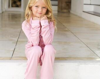 dfdb9dc7933b Flower girl pajamas