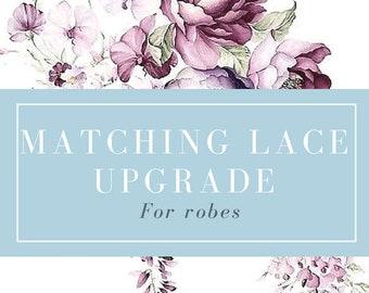 Add Matching Lace Upgrade