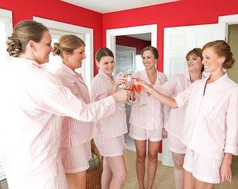 Pajama Set // Pyjama Set // Bridesmaid Pajama // Bridesmaid Gift //Bridal Gift //Cotton pjs// Bridesmaid PJs // Bridal pjs // Bridal pajamas