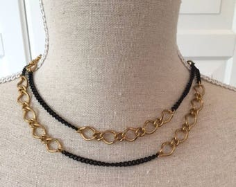 Necklace, Long Chain, Boho