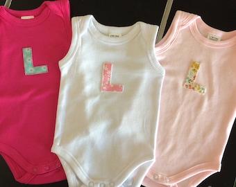 Personalised Baby Girl's Bodysuit