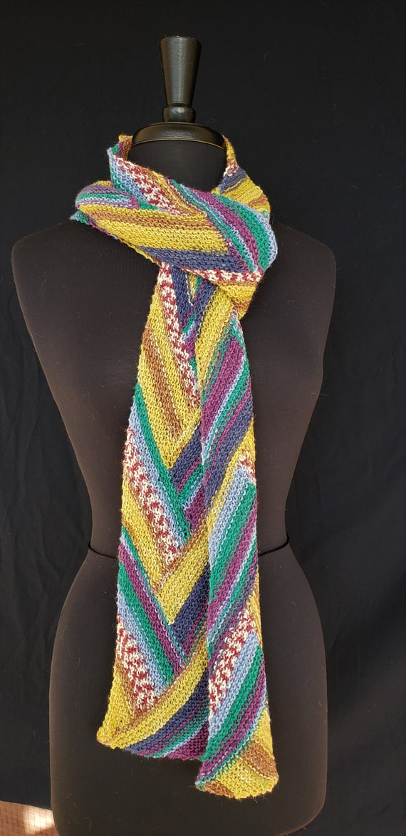 Scarf - Celtic Braid  - Mid-Summer's Day