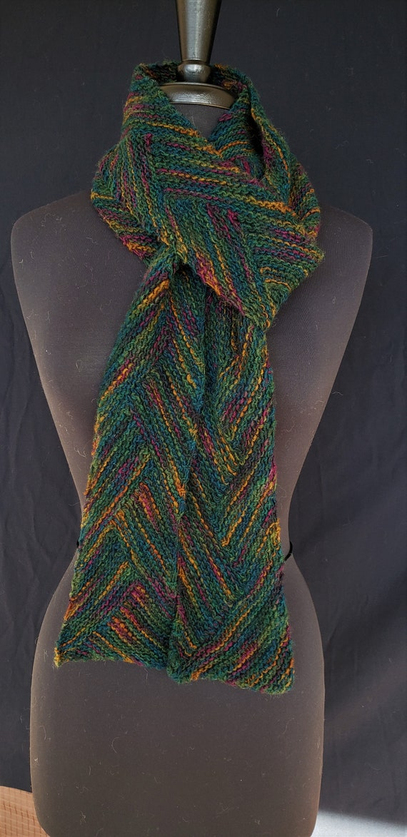 Scarf - Celtic Braid  - Fairy Glen