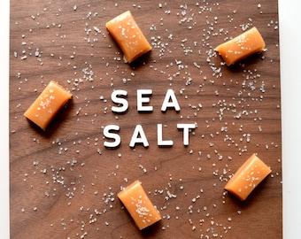 Sea Salt Caramels - 8 ounces