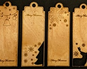 Wooden Gift Tag (Set of 4)