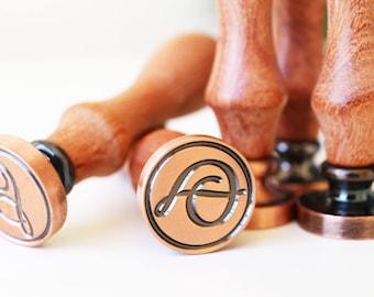 Alphabet Wax Seal Stamp, Initials Wax Seal Stamp, retro calligraphic sealing stamp,Wax seal stamp A - Z, gift box set