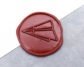 Paper Plane Wax Seal Stamp/Wax Seal Stampkit /Wedding wax seal stamp/wedding wax seal kit