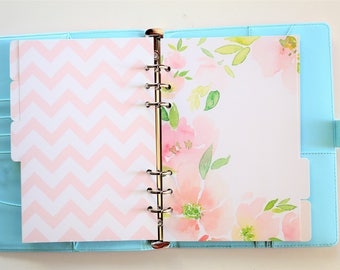 Hello Planner Dividers/A5 dividers /Personal dividers /Planner divider set /Filofax dividers /