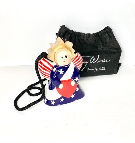 Purse, Vintage Purse, Timmy Lady Liberty Purse, Wo
