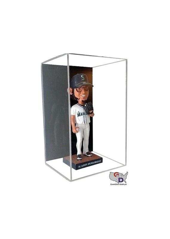 Wall Mount Double Baseball Display Case by GameDay Display UV Protecting USA