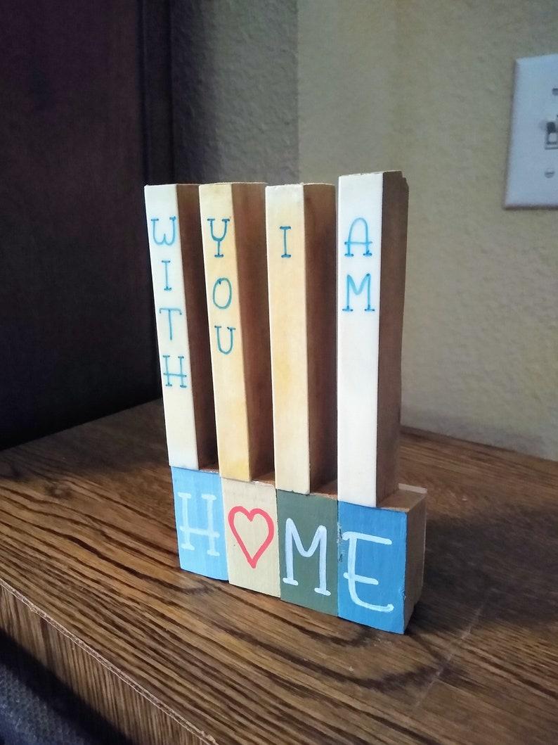 HOME  Ivory Piano Key Love Letters shelf decor image 0