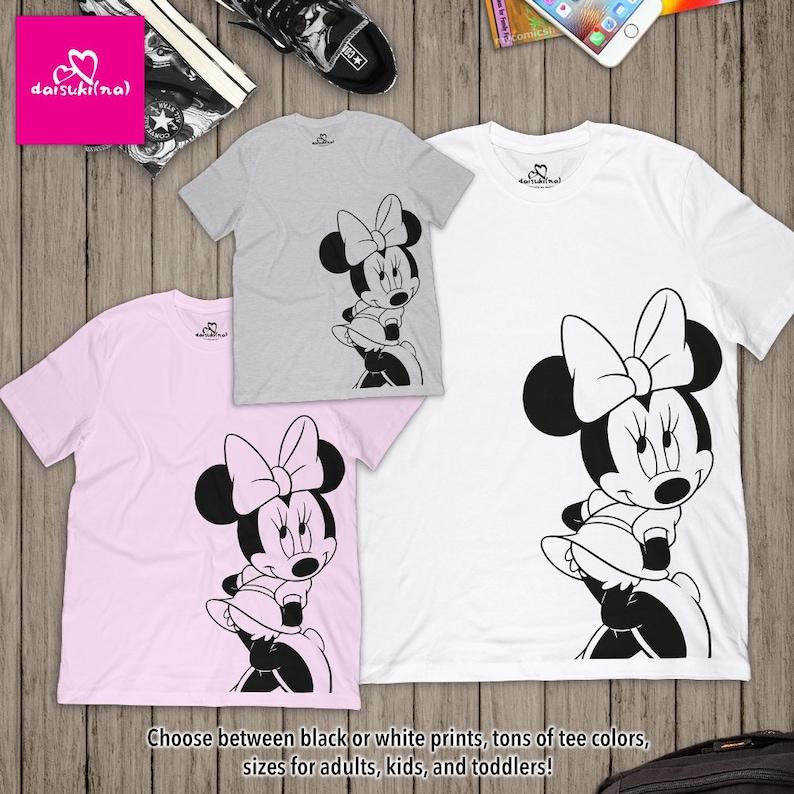 ec22cafbae Classico Minnie Mouse daisukina adulti / bambini / bambini | Etsy