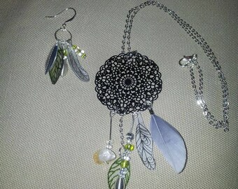 "Chain necklace ""Dream"" Mandala"
