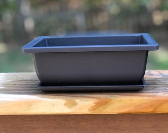 6in Bonsai Pot + Humidity tray