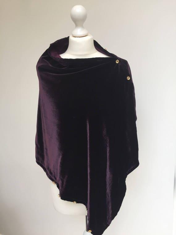 Luxury 4 in 1 Wrap in Velvet lined with Silk